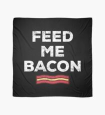 Bacon Funny Gift Apparel Scarf