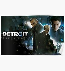 Detroit: Become Human - Connor, Markus, Kara Poster 2 Poster