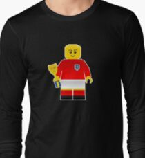 England World Cup 1966 Minifig Long Sleeve T-Shirt