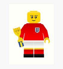 England World Cup 1966 Minifig Art Print