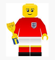 England World Cup 1966 Minifig Photographic Print