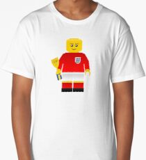 England World Cup 1966 Minifig Long T-Shirt