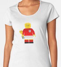 England World Cup 1966 Minifig Women's Premium T-Shirt