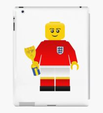 England World Cup 1966 Minifig iPad Case/Skin