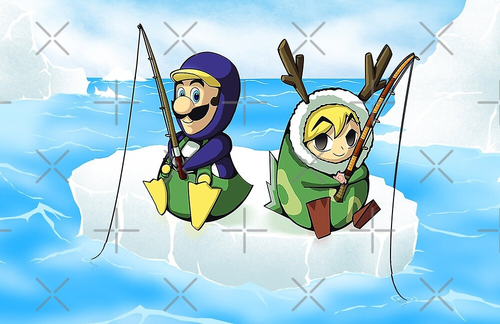 Be green (Link & Luigi) by Lirhya