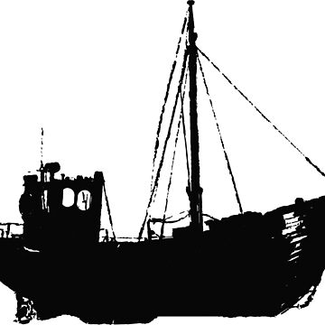 Fishing boat by cartoonblog