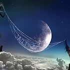 Catching Moon by Igor Zenin