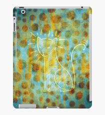 Spotted Cat iPad Case/Skin