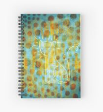 Spotted Cat Spiral Notebook