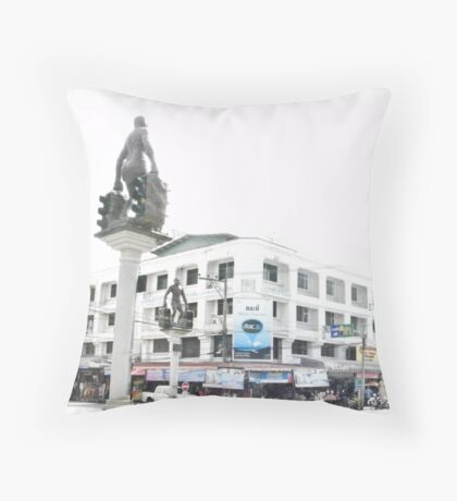 Krabi Crossroads Throw Pillow