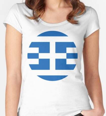 Greece 1.0 Fitted Scoop T-Shirt