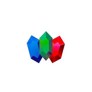Rupees - Legend of Zelda by RunKitsune