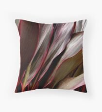Cordyline leaves..  Throw Pillow