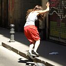 I mid air by MichaelBr