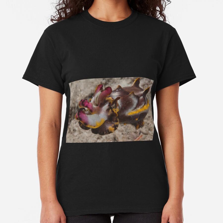 Flamboyant Cuttlefish, Kapalai, Sabah, Malaysia Classic T-Shirt