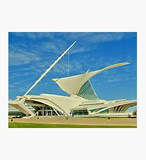 Milwaukee Art Museum Photographic Print