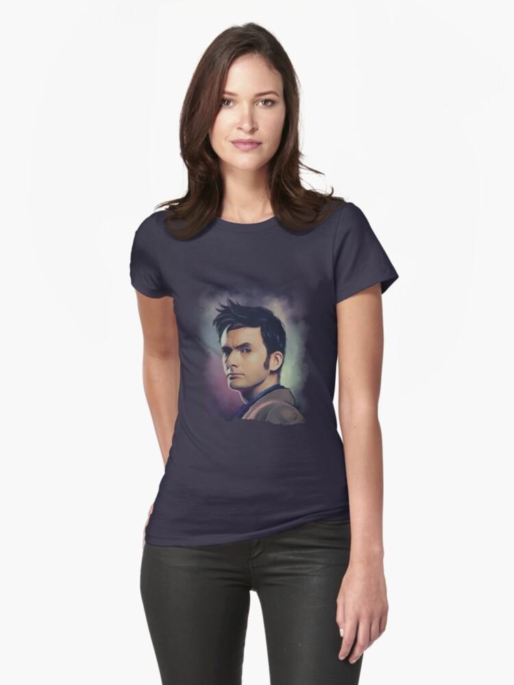 David Tennant Womens T-Shirt Front