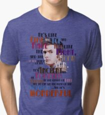 wonderful doctor Tri-blend T-Shirt