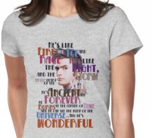 wonderful doctor Womens Fitted T-Shirt