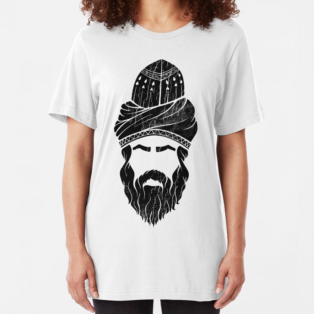 Rumi - Graphic Silhouette Head (black) Slim Fit T-Shirt