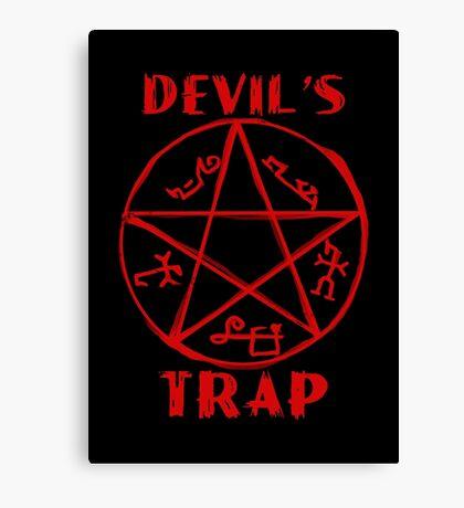 Devil's trap Canvas Print