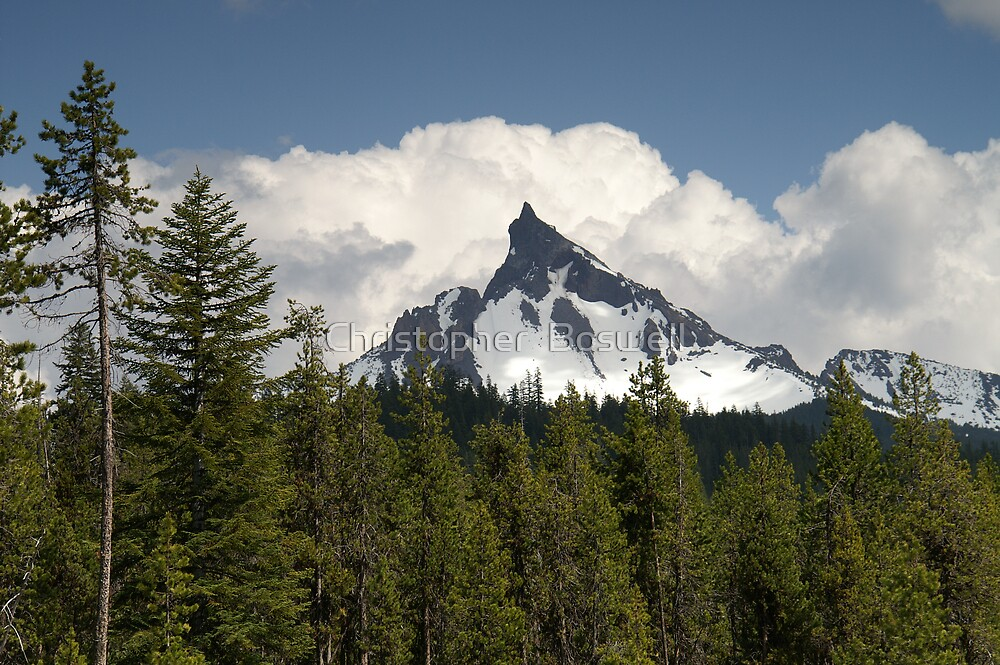 Mount Theilsen by Christopher  Boswell