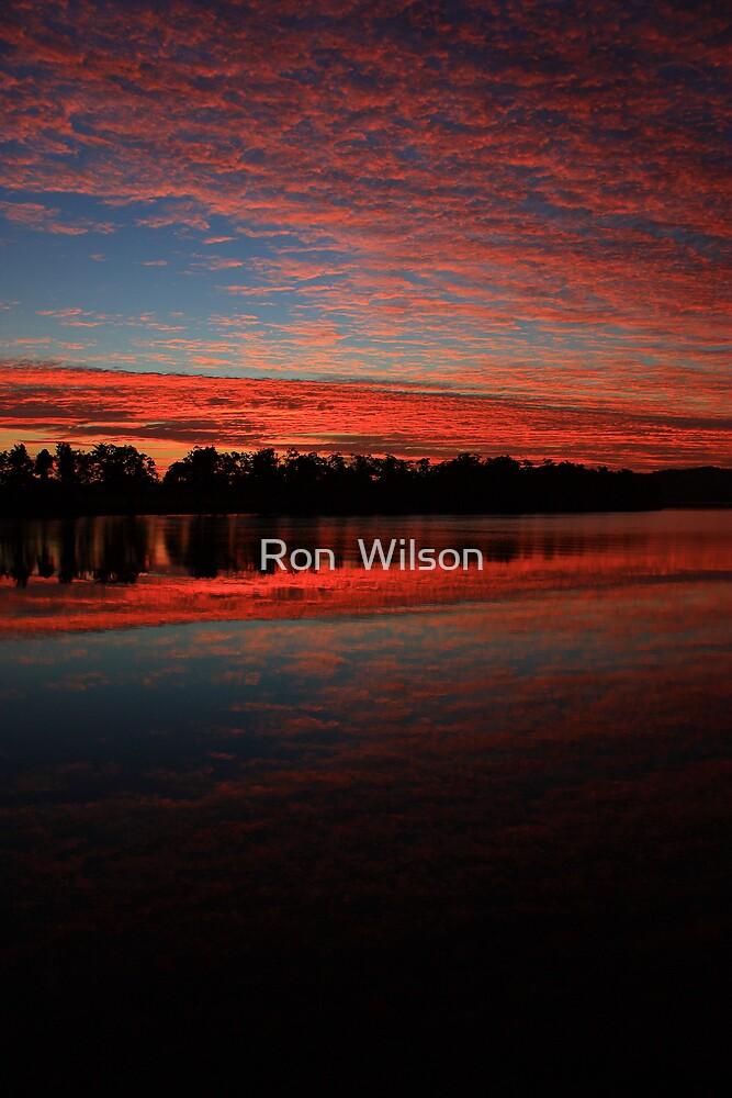 sunrise innisfail by Ron  Wilson