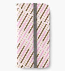 Japanese Chocolate Biscuit Sticks iPhone Wallet/Case/Skin