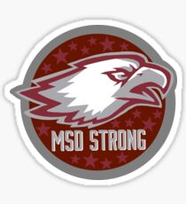 MSD STRONG Sticker
