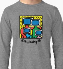 KEITH HARING - TV FAMILY POP ART Lightweight Sweatshirt
