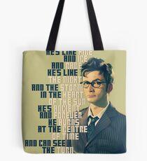 David Tennant - He's wonderful Tote Bag