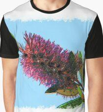 Callistemon citrinus drawn Art Graphic T-Shirt