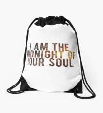 I Am The Midnight To Your Soul Drawstring Bag