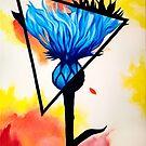 Cornflower Catch by Kaisa Holsting
