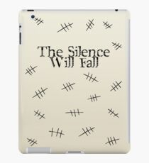 Signs of the silence iPad Case/Skin
