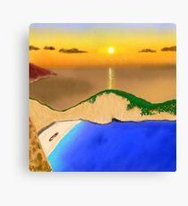Shipwreck Beach Canvas Print
