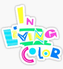 In Living Color 90s T-Shirt Sticker