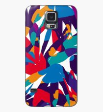 Purple Abstraction Case/Skin for Samsung Galaxy