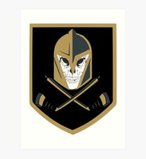 LV Golden Knights Never Die Art Print