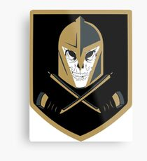 LV Golden Knights Never Die Metal Print