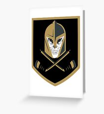 LV Golden Knights Never Die Greeting Card