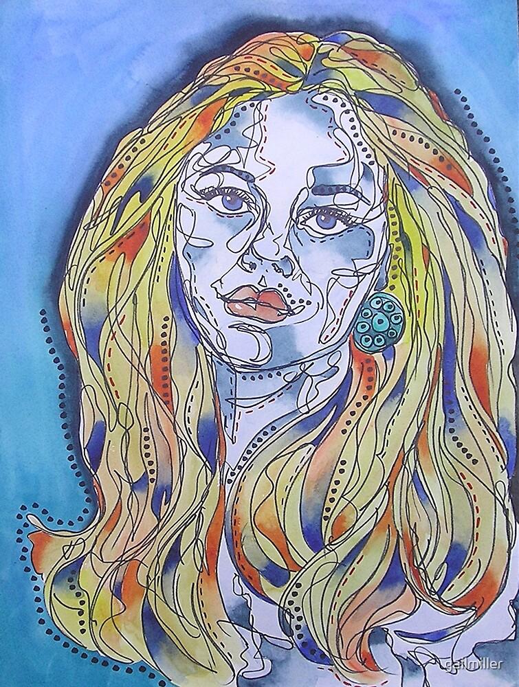 Blue Woman by gailmiller