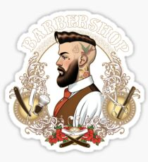 Barber Shop_04 Sticker