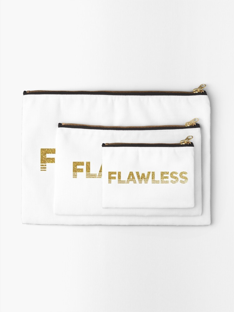 Alternate view of Flawless Zipper Pouch