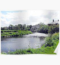 River Wyre. Garstang Poster