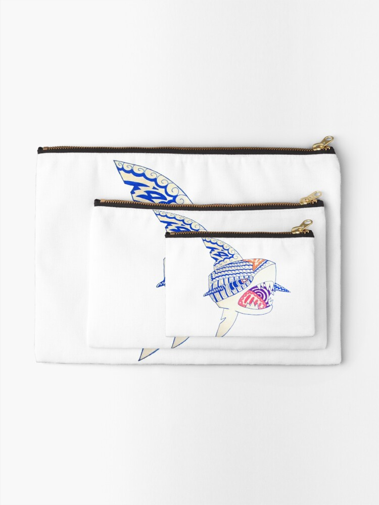 Beast of the Waves | Zipper Pouch