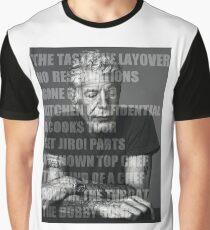 Works of Anthony Bourdain Graphic T-Shirt
