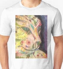 Abstract Cat Study Unisex T-Shirt
