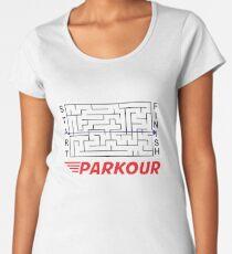 Parkour Women's Premium T-Shirt