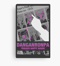 Danganronpa Trigger Happy Havoc Canvas Print